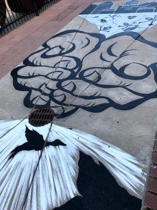 2018 Storm Drain Art: Dina Buckey