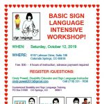 Basic Sign Language Workshop presented by United Providers at United Providers, Colorado Springs CO