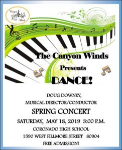 Canyon Winds Spring Concert