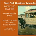 Streetcar Museum Tour presented by Pikes Peak Chapter of the Colorado Archaeological Society at Pikes Peak Streetcar Museum and Restoration Shop, Colorado Springs CO