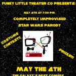Improvised Star Wars Parody, Live Show, and Costume Contest