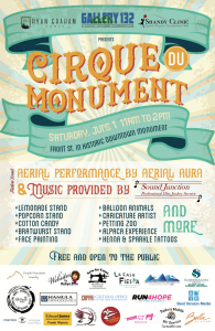 Cirque du Monument presented by Gallery 132 at ,