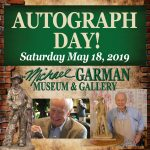 Autograph Day with Michael Garman presented by Michael Garman Museum & Gallery at ,