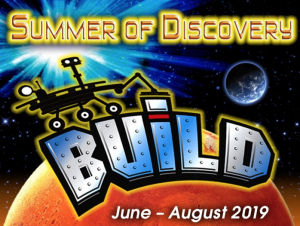 Summer of Discovery: Build! presented by Space Foundation Discovery Center at Space Foundation Discovery Center, Colorado Springs CO