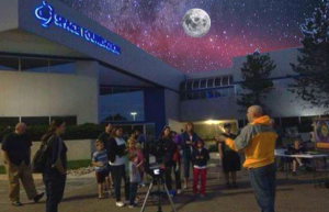 Family Star Party: Living in Space