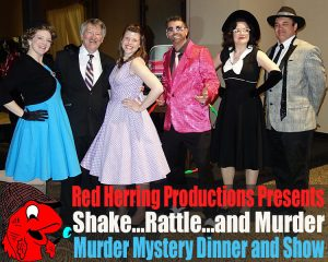 Shake, Rattle, & Murder – A 1950's Murder Mystery Dinner & Show presented by Stargazers Theatre & Event Center at Stargazers Theatre & Event Center, Colorado Springs CO