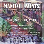 CALL FOR ARTISTS: Manitou Paints!