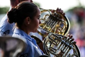 "Jazz in the Parks: USAF Academy Band ""Falconaires""..."