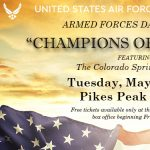 """""""Champions of Freedom"""" Armed Forces Day Concert"""