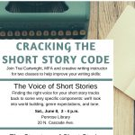 Cracking the Short Story Code: Voice of Short Stories presented by Pikes Peak Library District at Knights of Columbus Hall, Colorado Springs CO