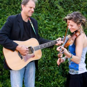 Music on the Labyrinth: Joe and Katie Uveges