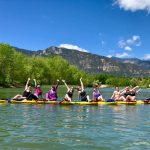 Paddle Yoga & Lunch presented by Dragonfly Paddle Yoga at ,