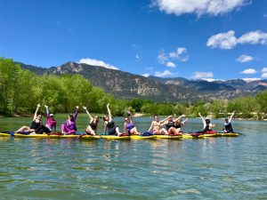 Paddle Yoga & Lunch