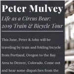 Peter Mulvey Bicycle/Train Tour