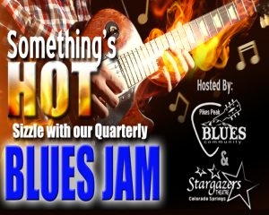 Pikes Peak Blues Community Jam presented by Stargazers Theatre & Event Center at Stargazers Theatre & Event Center, Colorado Springs CO