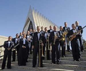Jazz in the Garden with USAFA Falconaires