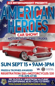American Heroes Car Show presented by American Heroes Car Show at ,