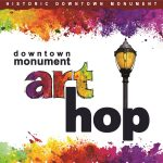Art Hop presented by Historic Monument Merchants Association at Historic Downtown Monument, Monument CO