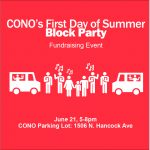 CONO's First Day of Summer Block Party