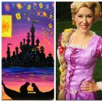 Paint with a Princess! presented by Premier Princess Entertainment at Brush Crazy, Colorado Springs CO