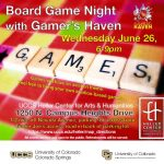 Board Game Night at the Heller Center