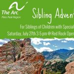 Middle School Sibshop presented by Arc Pikes Peak Region at Red Rock Canyon Open Space, Colorado Springs CO