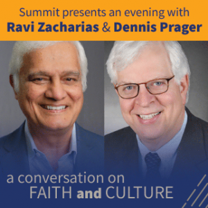 An Evening with Ravi Zacharias and Dennis Prager presented by Pikes Peak Center for the Performing Arts at Pikes Peak Center for the Performing Arts, Colorado Springs CO