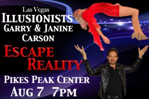 Escape Reality presented by Pikes Peak Center for the Performing Arts at Pikes Peak Center for the Performing Arts, Colorado Springs CO