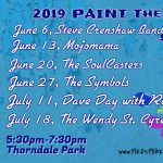 Paint the Town Blue featuring the Soulcasters presented by Pikes Peak Blues Community at Thorndale Park, Colorado Springs CO