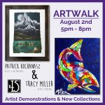 Patrick Kochanasz & Tracy Miller presented by 45 Degree Gallery at 45 Degree Gallery, Colorado Springs CO