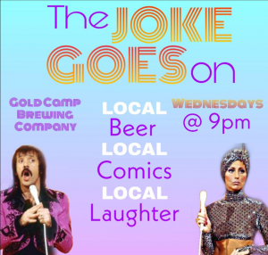 The Joke Goes On Comedy Open Mic presented by CANCELED: Bi Visibility Event at ,