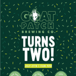 Goat Patch Brewing Company Turns Two! presented by Goat Patch Brewing Company at Goat Patch Brewing Company, Colorado Springs CO