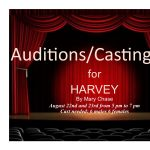 Auditions for 'Harvey' presented by Fountain Community Theater at Fountain Community Theater, Fountain CO