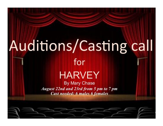 Auditions for 'Harvey'