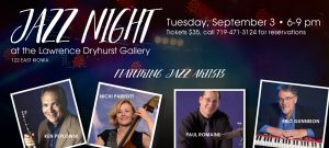 Jazz Night presented by Friends of Colorado Springs Jazz at ,