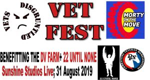 Disgruntled VetFest 2019 presented by Disgruntled VetFest 2019 at Sunshine Studios, Colorado Springs CO