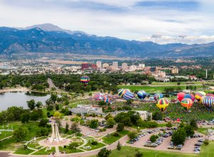 One Year Out in Olympic City USA presented by City of Colorado Springs at Memorial Park, Colorado Springs, Colorado Springs CO