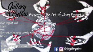 The Art Of Jinxy Poppet presented by The Art Of Jinxy Poppet at The Gallery Below, Colorado Springs CO