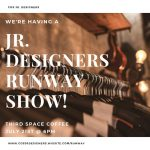 COS Junior Designers Runway Show presented by Third Space Coffee at Third Space Coffee, Colorado Springs CO