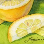Watercolor Class: Designing With Fruit presented by Lorraine Watry at ,