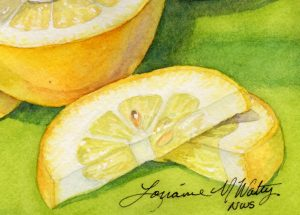 Watercolor Class: Designing With Fruit