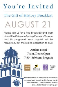 Gift of History Breakfast