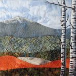 Nature Inspired Stitch and Paint Art Quilts
