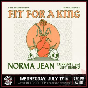 Fit For A King presented by The Black Sheep at The Black Sheep, Colorado Springs CO