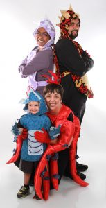 'The Pirate Ninja (Cupcake) Musical' presented by Dragon Theatre Productions at PPLD -Library 21c, Colorado Springs CO