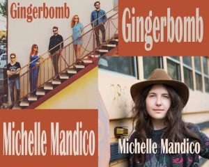 Michelle Mandico Vinyl Release & Gingerbomb presented by Stargazers Theatre & Event Center at Stargazers Theatre & Event Center, Colorado Springs CO