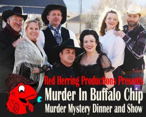 'Murder in Buffalo Chip' presented by Stargazers Theatre & Event Center at Stargazers Theatre & Event Center, Colorado Springs CO