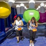 The Great Inflatable Race 2019 presented by Colorado Springs Sports Corporation at Memorial Park, Colorado Springs, Colorado Springs CO