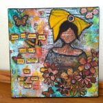 Maker in Residence: Mixed Media Collage Art