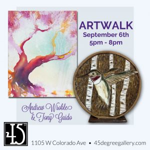 Andrew Wroble & Tony Guido presented by 45 Degree Gallery at 45 Degree Gallery, Colorado Springs CO